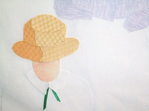 Detail of hat