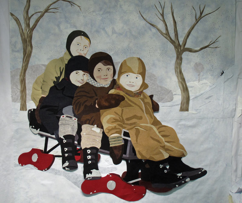 Kids-with-sleigh-and-trees-