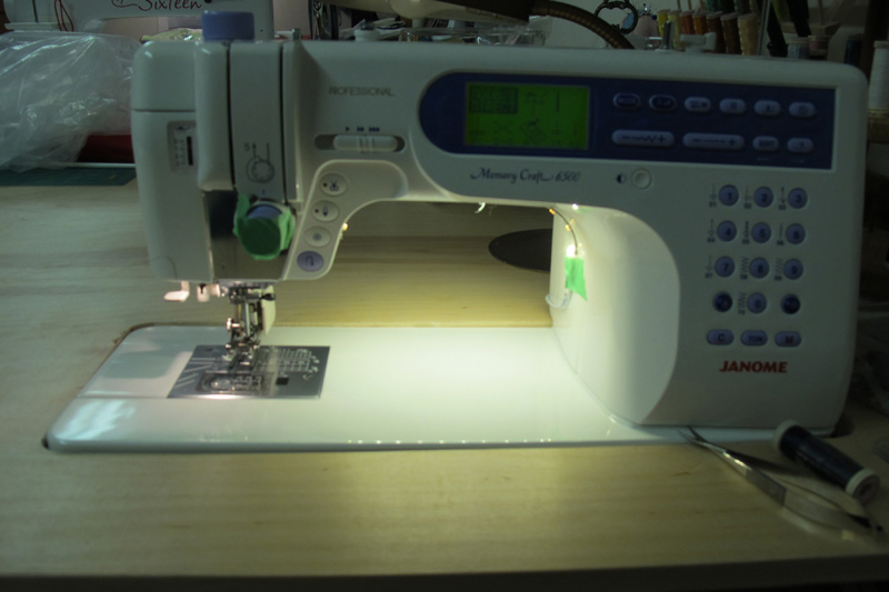 Let There Be Light Led Lighting On Your Sewing Machine
