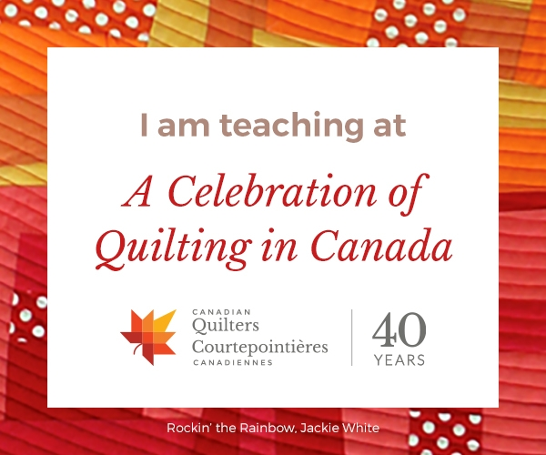Teaching at Quilt Canada